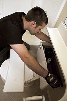 Greg, one of our Turlock toilet repair pros is investigating a malfunctioning toilet